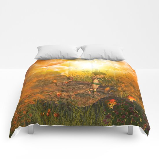 The land in the universe Comforters