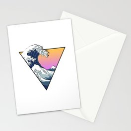 Great Wave Aesthetic Stationery Cards
