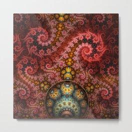 Unending dragon spiral Metal Print