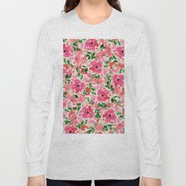 Red Rose Bouquet Long Sleeve T-shirt