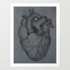 ...like seperate chambers of the human heart. Art Print