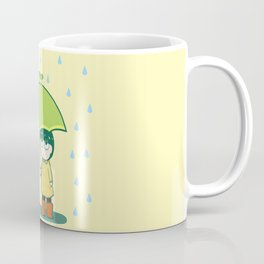 Frog Umbrella Coffee Mug
