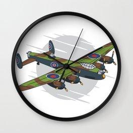 Lancaster Bomber Wall Clock