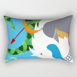 Saint George  Rectangular Pillow