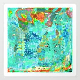 Eternal Blue Art Print