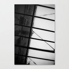 New York & Rain Canvas Print