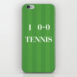 I heart Tennis iPhone Skin