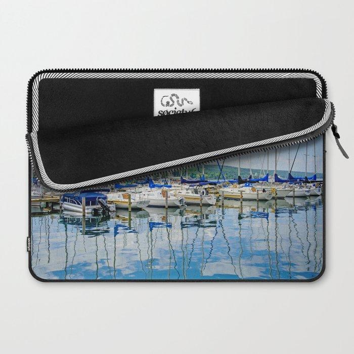 Glen Harbour Marina Laptop Sleeve