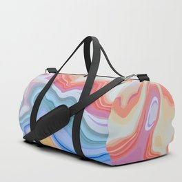Liquid Rainbow Agate Gem Duffle Bag