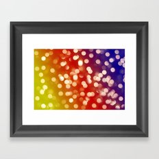Lights & Gradients VII Framed Art Print