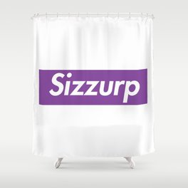 Sizzurp Shower Curtain