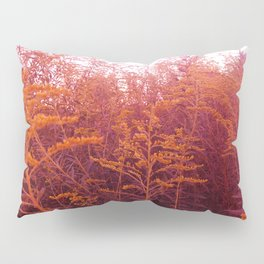 Red Goldenrod Pillow Sham