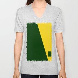Green-Yellow Unisex V-Neck