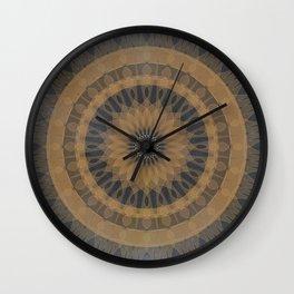 MANDALA GOLD Wall Clock