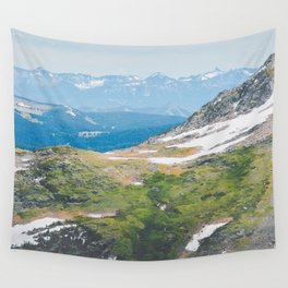 Alpine Mosses Wall Tapestry