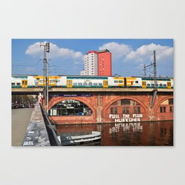 Old storehouse of Berlin Canvas Print