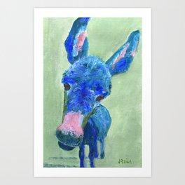 Wonkey Donkey Art Print