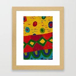 Reduction in colour Framed Art Print