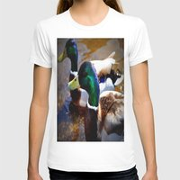 ducks T-shirts featuring ducks by  Agostino Lo Coco