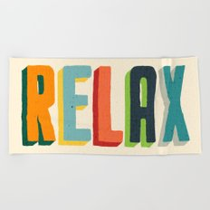 Relax Beach Towel