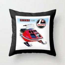 Rupp Nitro 440 Snowmobiles USA Classic T-Shirt Throw Pillow