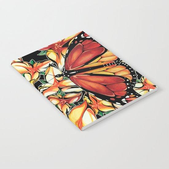 Resting Monarchs Notebook