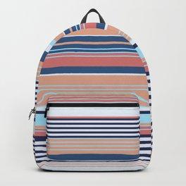 Nautical Stripe Backpack