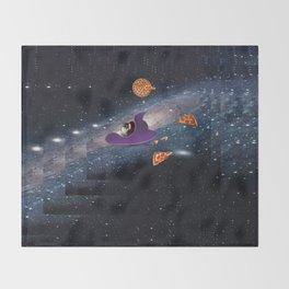 Pizza Heaven Throw Blanket