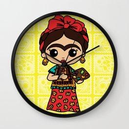 Frida Painting Reality Wall Clock