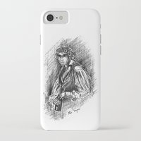 grantaire iPhone & iPod Cases featuring Grantaire, III by Flávia Marques