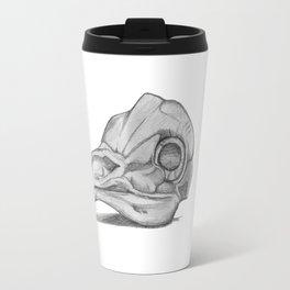 Barn Owl Skull Travel Mug