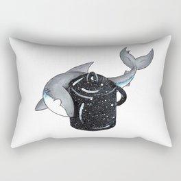 Circling the Lobster Pot Rectangular Pillow