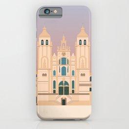 Santiago de Compostela Cathedral, Camino de Santiago, Galicia, Spain iPhone Case