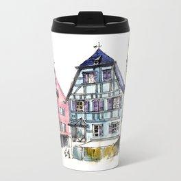 architecture house Metal Travel Mug