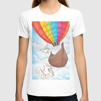 ballon T-shirts featuring PEGASUS and RAINBOW AIR BALLON by JChrst