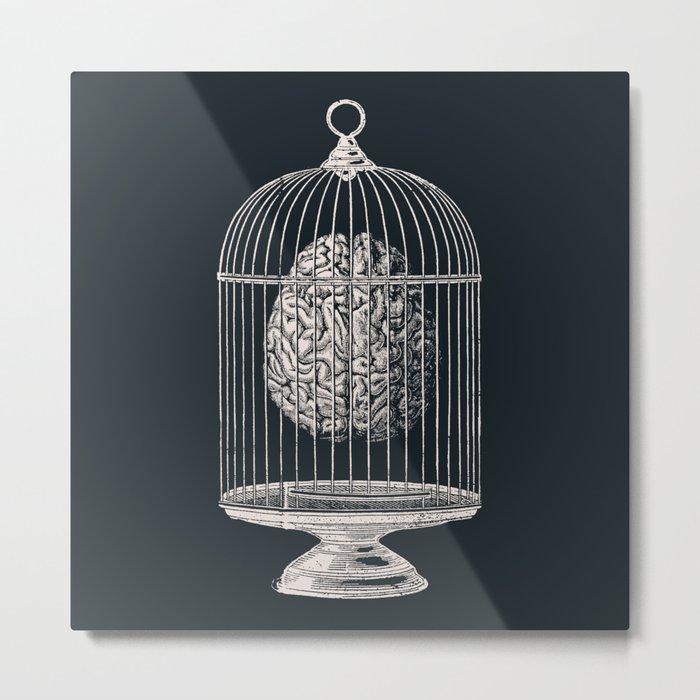 Free My Mind Metal Print