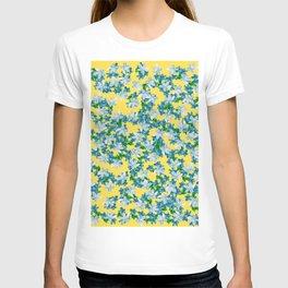 Summer Flowers Yellow T-shirt