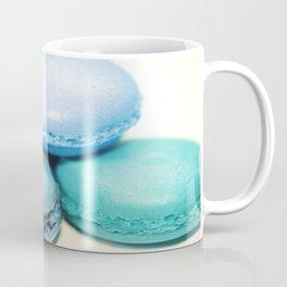 Macarons / macaroons Teal Blue Lavender Coffee Mug