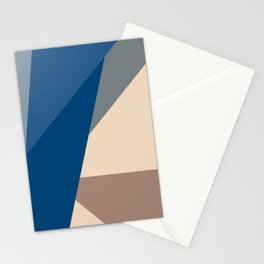 Escalonated Triangles Stationery Cards