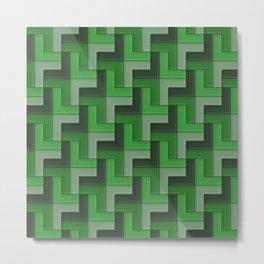 Geometrix LXXII Metal Print