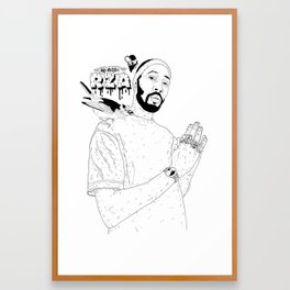 RZA Framed Art Print