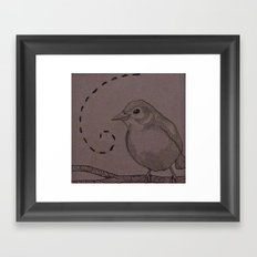 Lil' Bird Framed Art Print