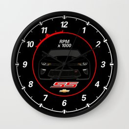 Camaro SS Wall Clock