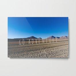 Go Adventure, Atacama Desert, Bolivia Metal Print
