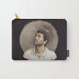 Castiel. White crown. Carry-All Pouch
