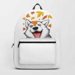 Autumn husky Backpack
