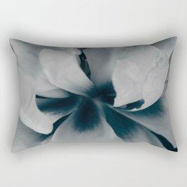 White peony 3 Rectangular Pillow