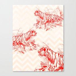 Territorial Canvas Print