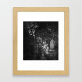 The Beautiful Ghost Framed Art Print