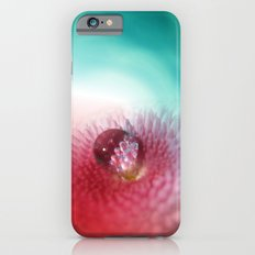 Bellis on red and turquoise Slim Case iPhone 6s